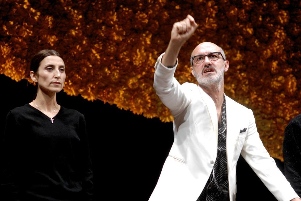 Monica Piseddu (Concetta) e Francesco Manetti