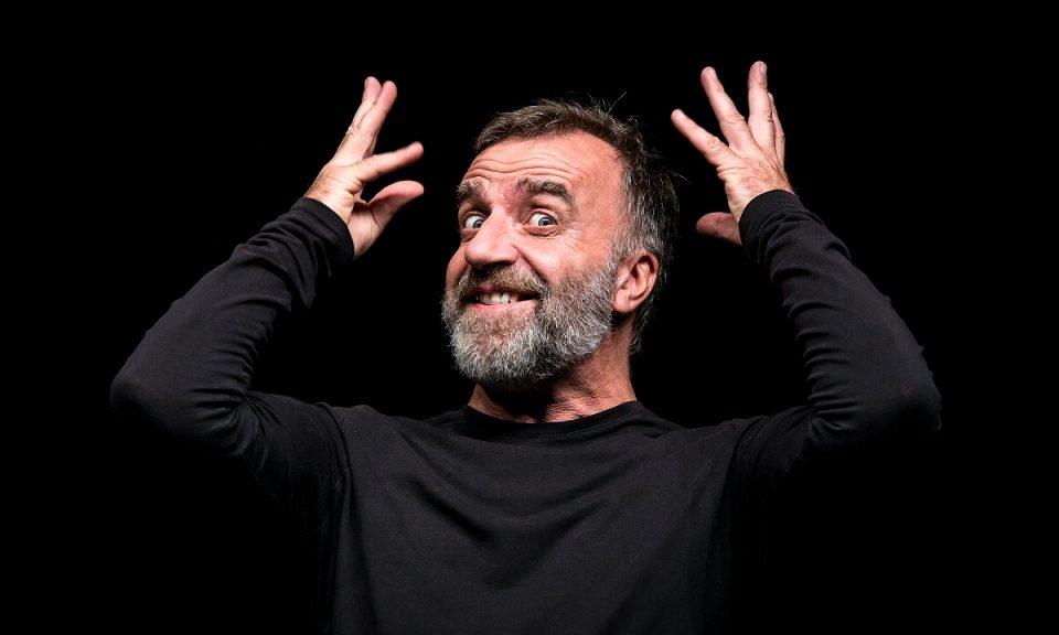 "Ugo Dighero in ""Mistero Buffo"""